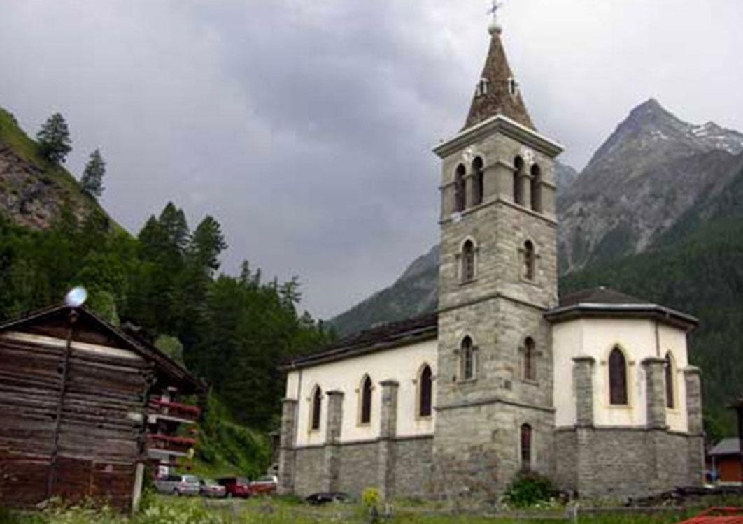 La chapelle des Haudères