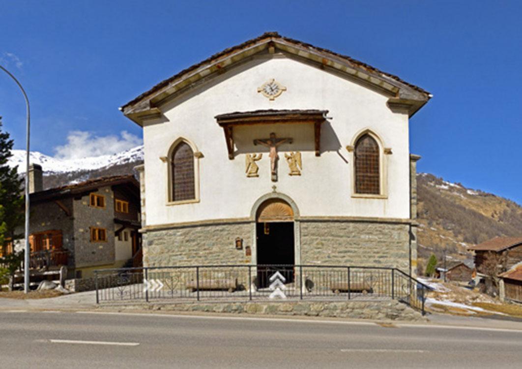 La chapelle à 360°