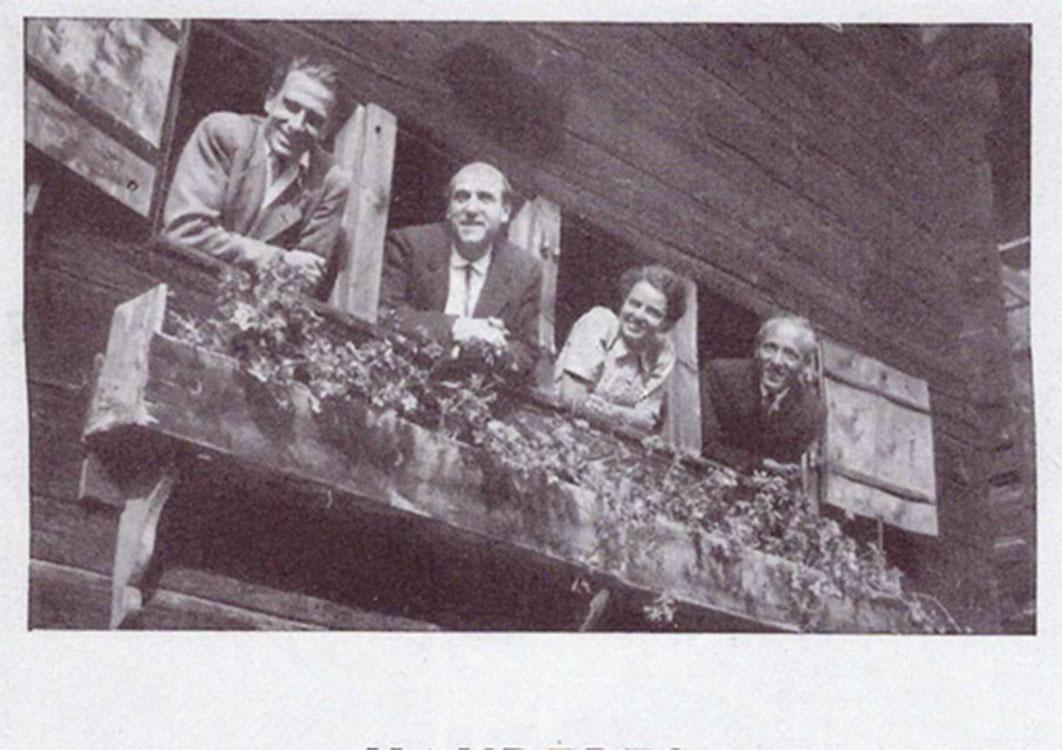 Affiche d'un concert de 1947